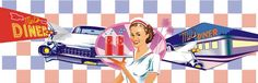 50s American waitress by Pastiche