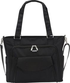 baggallini Alfa Laptop Tote - EXCLUSIVE Black/Sand - via eBags.com!