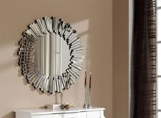 Popular round wall mirrors decorative