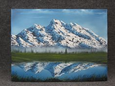 'Mountain Reflection' by Kevin Hill