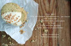 Gutes für Leib & Seele: Teegebäck mit Kürbiskernen und Tonkabohne
