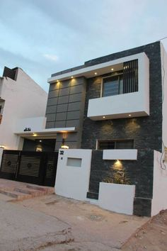 New house design 5 marla modern house design by midtown homes 5 house 5 marla house . new house design Bungalow Haus Design, Duplex House Design, House Front Design, Modern House Design, Double Story House, Minimalist House Design, House Elevation, Front Elevation, Modern Architecture House