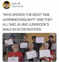 I'm proud 🙌 and that smile though 😍 Jikook, Bts Namjoon, Bts Bangtan Boy, Got7, Bts Memes Hilarious, Bts Tweet, About Bts, Bts Boys, Kpop Groups