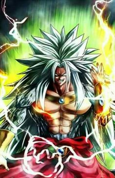 Broly LSSJ5 Super Saiyan, One Punch, Dragon Ball Z, Evil Goku, Anime Crossover, Otaku Anime, Son Goku, Anime Comics, Chicas Anime