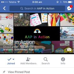 """Age Appropriate Pedagogies in Action: Facebook group for Australian early years teachers interested in sharing practical ideas on implementing AAP. Search """"AAP in Action"""" and join us on the AAP journey!"""