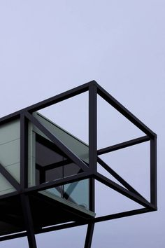 Lecor by Kjellgren Kaminsky Architecture AB Swedish steel manufacturers build themselves a steel office Metal Building Homes, Building Design, Building Ideas, Space Architecture, Architecture Details, House On Stilts, Timber Structure, Steel House, Steel Buildings