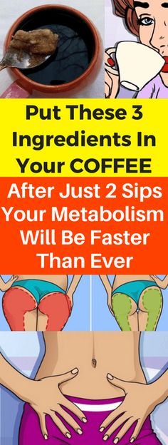 PUT THESE 3 INGREDIENTS IN YOUR COFFEE. AFTER JUST 2 SIPS, YOUR METABOLISM WILL BE FASTER THAN EVER - seeking habit