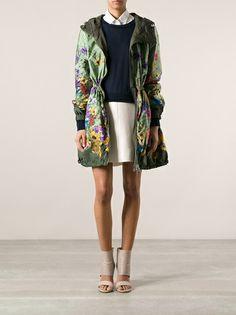 MONCLER - Eufrasia floral print coat 9