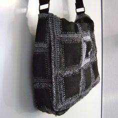 crochet bag squares,