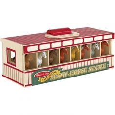Find the Melissa & Doug Take-Along Show-Horse Stable Play Set by Melissa & Doug at Mills Fleet Farm.  Mills has low prices and great selection on all Pretend Play   Dress Up.