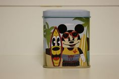 """NEW HAWAII EXCLUSIVE Disney Store 3"""" Mickey Mouse Surfs Vinylmation Figurine"""