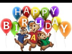 Chipmunks - Happy Birthday to You!!! - YouTube