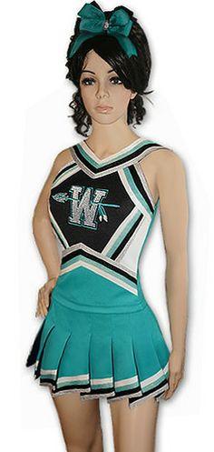 cheerleader uniforms - Buscar con Google … | Pinteres…