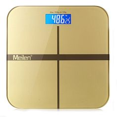 Max 180KG Smart Weighing Scale LED Display Electronic Fitness Bathroom Body Weight Portable Digital Health Scale -- Want additional info? Click on the image.