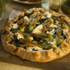 Swiss chard and herb tart with young cheese - Ottolenghi in Corsica Yotam Ottolenghi, Ottolenghi Recipes, Quiche, Empanadas, Vegetarian Recipes, Cooking Recipes, Veggie Recipes, Savory Tart, Savoury Pies