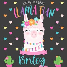 Callie Phillips added a photo of their purchase 2 Birthday, Llama Birthday, First Birthday Parties, First Birthdays, Alpacas, Llama Print, Llama Alpaca, Party Printables, Just In Case