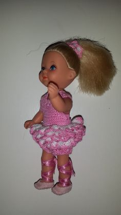 een ballerina outfit voor Evi