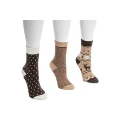 Women's MUK LUKS Holiday Boot Socks - Desert Casual Socks ($25) ❤ liked on Polyvore featuring intimates, hosiery, socks, casual footwear, casual socks, tan, holiday socks, muk luks socks, cuff socks and holiday hosiery