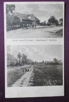 AK Plicken - Memel,  Gasthaus J. Jenkis, gel. Feldpost 1941  RARITÄT