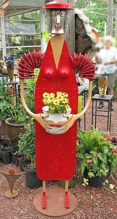 ideas for Handmade flower beds