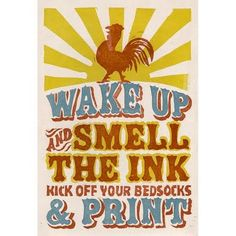 great poster. my mantra for today! will be in the letterpress shop ALL DAY!!