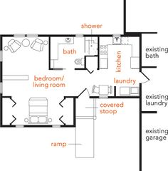 1000 images about additions on pinterest mother in law for Average cost of in law suite addition