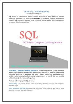 Learn sql in ahmedabad