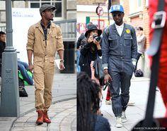 My Dutch Fashion Style: Inspiration // Jumpsuits for Men Mechanic Jumpsuit, Boiler Suit, One Piece Suit, Suit And Tie, Jumpsuits For Women, Lifestyle Blog, Military Jacket, Winter Jackets, Menswear