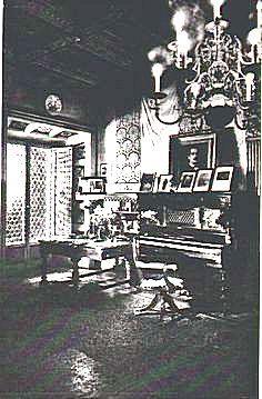 Giacomo Puccini's piano at his Torre del Lago estate
