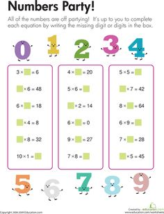 Keeping it fun by looking at it another way > Multiplication Fun