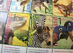 Dutch Burgers Zoo stamps
