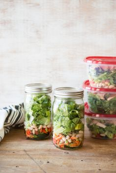 How to Pack a Week's Worth of Make-Ahead Salads ( 5 Recipes to Get You Started!)