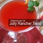 Clocking in at 96 calories, this delicious low-cal 'Jolly Rancher Twist' is the perfect complement for a hot summer day