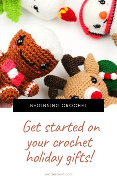 Make your very own cute crochet holiday patterns! Get started with amigurumi with all these easy crochet patterns for your christmas gifts and decor. Create your own cute winter holiday hobby with this easy and unique crochet pattern. Cute and kawaii, these basic and beginner friendly DIY projects are perfect for any crocheter that loves christmas and holidays. This stuffed animal amigurumi is perfect for home decor. Stuffed animal plushie that can be made quickly and simply.