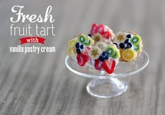 Polymer Clay Miniature Food Jewelry  Fruit by MySecretCravings, $10.00
