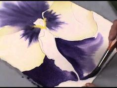 Watercolor with Birgit O'Connor: The Pansy