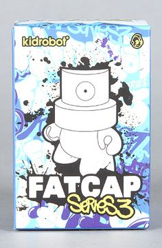 $10 The Fatcap Series 3 Mini Figure (Blind Assortment)  by Kidrobot -- Use repcode SMARTCANUCKS at the checkout for 20% off your entire purchase on Karmaloop.com -- http://lovekarmaloop.com