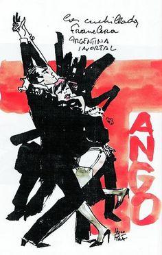 """diseño de """"Tango"""", historia recreada en la Buenos Aires de antaño"""