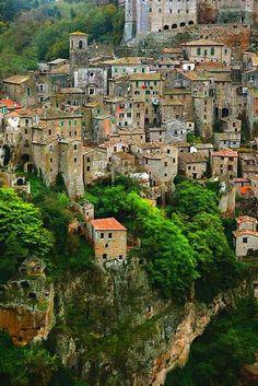 Soriano, Toscana. Italia