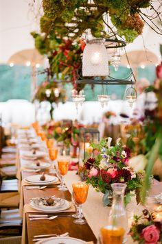 Outdoor Blue Ridge Mountains Fall Wedding  Read more - http://www.stylemepretty.com/little-black-book-blog/2014/03/18/outdoor-blue-ridge-mountains-fall-wedding/