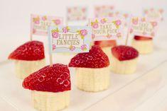 Healthy Party Food Ideas - Fruity Canapés