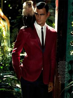 """Greek Model Marios Lekkas in """"Orient Expressions"""" by David Roemer for Robb Report - September 2013 Issue"""