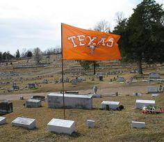 Texas Fan in Mississippi Cemetery    Cedar Hill Cemetery, Vicksburg, Mississippi.