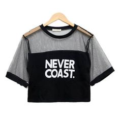 New Sexy Women Girls Loose Crop Top Blouse Shirt Crew Neck See-through Gauze Tops 7949 Girls Fashion Clothes, Teen Fashion Outfits, Outfits For Teens, Trendy Outfits, Girl Outfits, Ladies Fashion, Girl Fashion, Cropped Tops, Crop Top Outfits