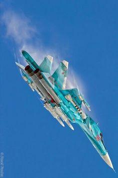 Eyes to the Skies : Foto Air Force Aircraft, Fighter Aircraft, Air Fighter, Fighter Jets, Avion Jet, Su 34 Fullback, Russian Military Aircraft, Photo Avion, Russian Plane