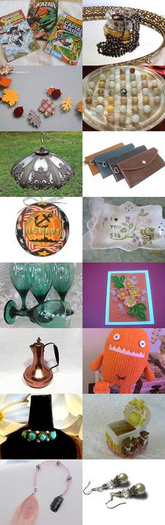 Wonderful Work Week Monday 10/19 by Karen and Tammy on Etsy--Pinned with TreasuryPin.com