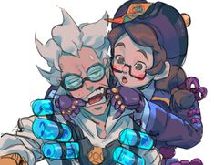 I love how coot meihem is! Overwatch Mei, Overwatch Comic, Overwatch Fan Art, Game Character, Character Design, Junkrat And Roadhog, Anime Undertale, Goth Art, Marvel