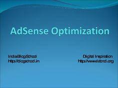 AdSense Tips by Amit Agarwal by Amit Agarwal via slideshare