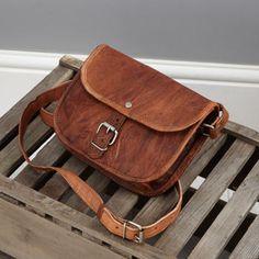 Leather Shoulder Bag By Vida Vida etsy