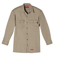 64f805dd0b5 Dickies FR Long Sleeve Twill Shirt